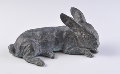 Rabbit Weanling Sculpture