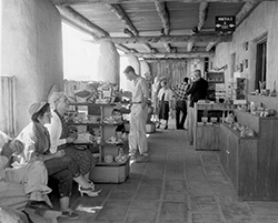 Mountain House Gift Shop — circa 1954