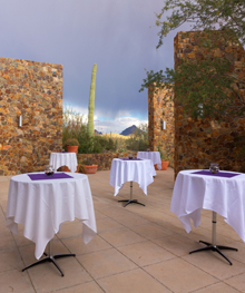 Photo of a corporate reception in the Ironwood Terraces