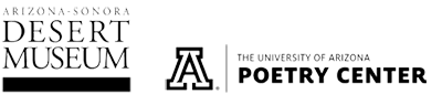 ASDM and UofA Poetry Center logos