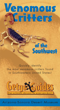 Cover - Venomous Critters of the Southwest